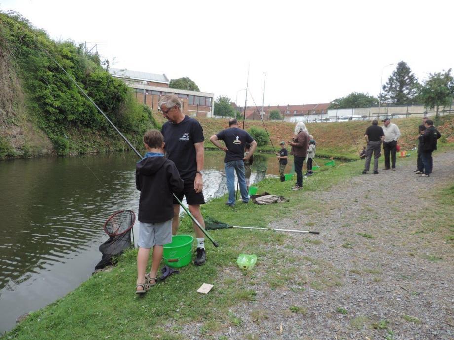 Le parcours de pêche